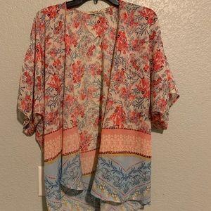 Liberty Love Tops - Floral Kimono Top